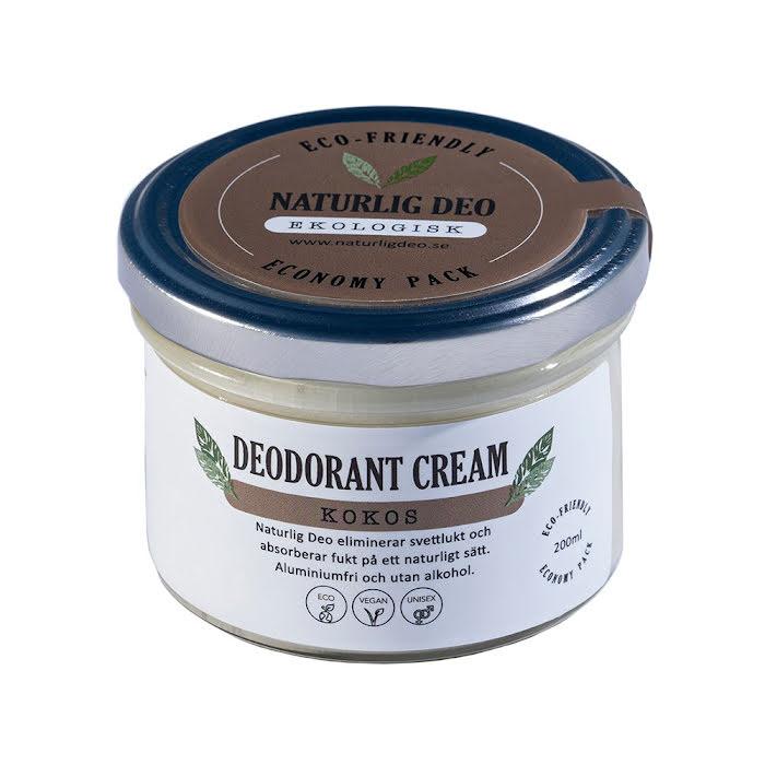 Naturlig Deo - Kokos Economy Pack 200 ml