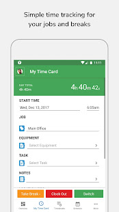 tsheets time tracker apps on google play