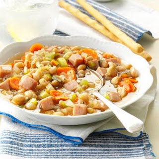 Navy Bean Vegetable Soup