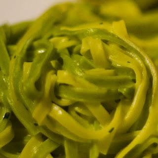 Garlic & Basil Fettucine