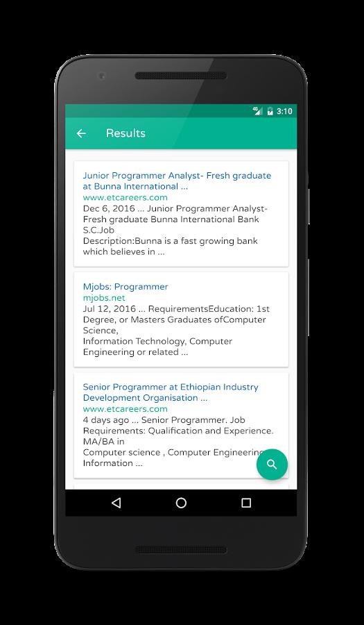 Hahu Jobs Ethiopian Job Search Android Apps on Google Play – Senior Programmer Job Description
