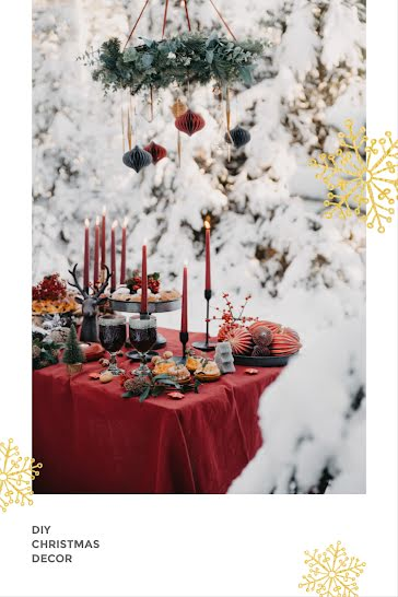 DIY Christmas Decor - Christmas Template