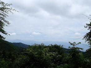 林道からの展望