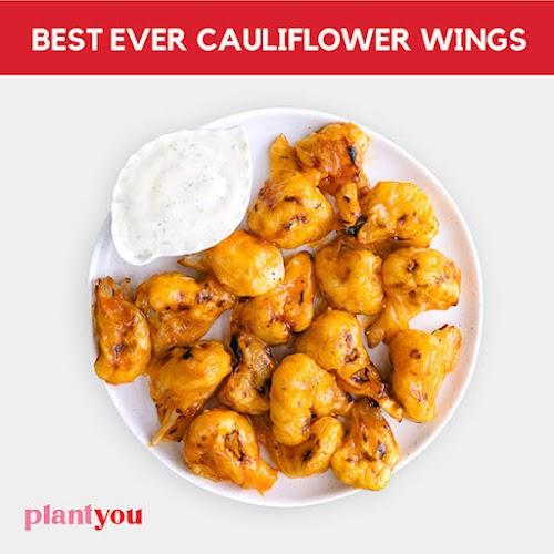 Best Ever Cauliflower Wings
