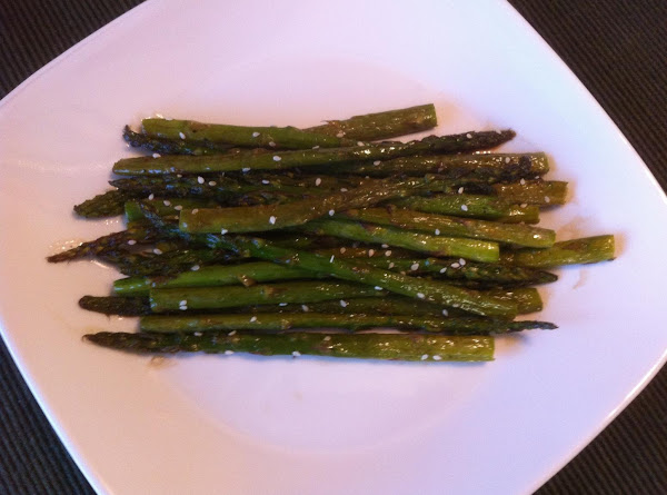 Roasted Asparagus With Balsamic Butter Sauce Recipe