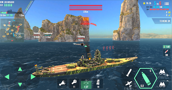 Battle of Warships: Naval Blitz 4