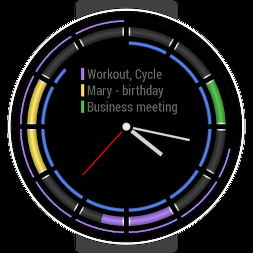 Calendar Analog for Samsung Watch Icon