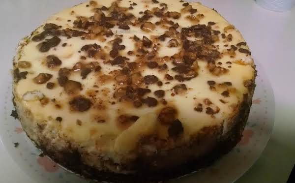 Heath Bar Cheesecake