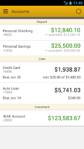 Wood & Huston Bank screenshot 1