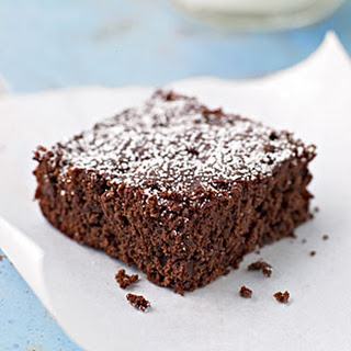 Dark Chocolate and Cherry Brownies.