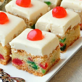 Cherry Cake Squares.