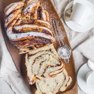 Apple Butter Cinnamon Swirl Bread.