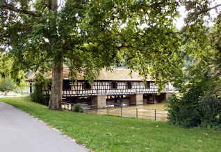 Photo: Wasserhaus Esslingen Hier wird der Wasserstand der Esslinger Kanäle reguliert.