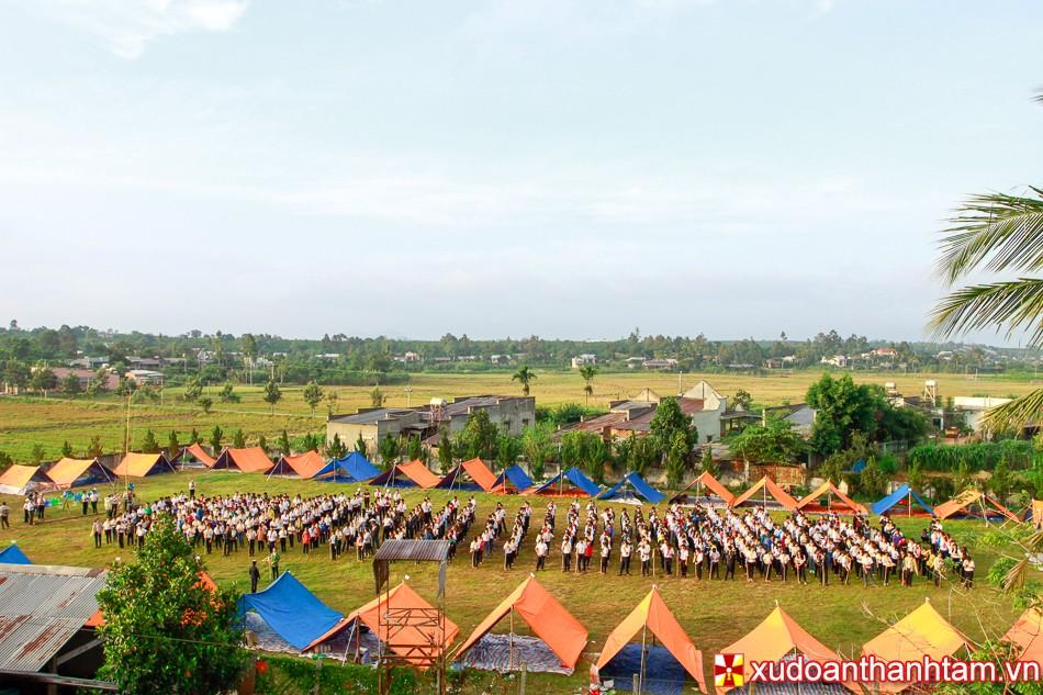 Trại giao lưu cùng gx Thanh Bình