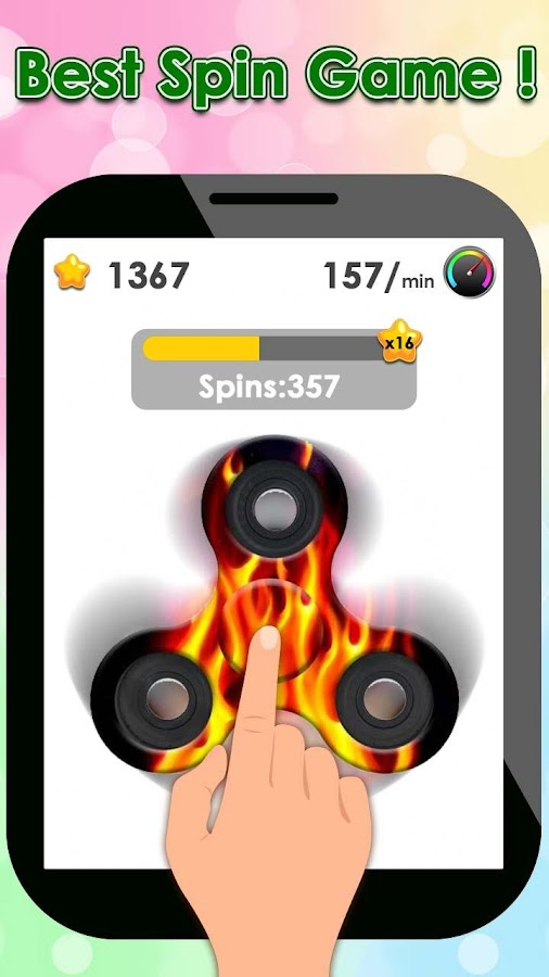 Fidget Spinner Twist- screenshot