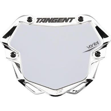 Tangent Pro Ventril 3D Number Plate - Chrome