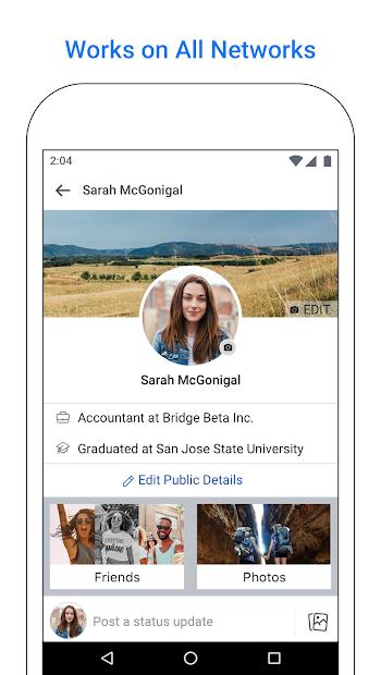 Screenshot - Facebook Lite