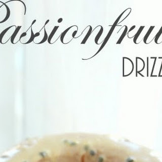 Passionfruit Drizzle Yogurt Cake.