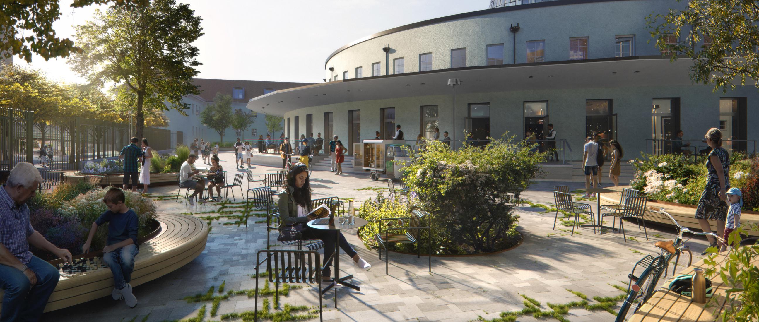 Arnulfpost office development, Munich, Germany