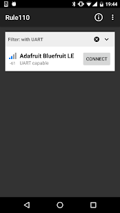 Rule110 Bluefruit Controller- screenshot thumbnail