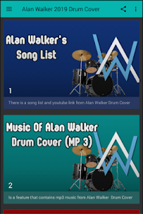 Alan Walker Drum Cover 2019 on Windows PC Download Free