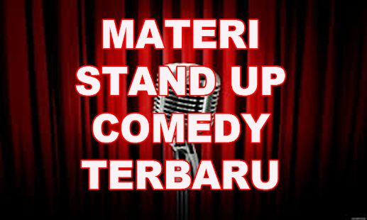 Materi Stand Up Comedy Terbaru - náhled