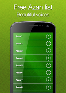 Azan mp3 Fajr Alarm screenshot