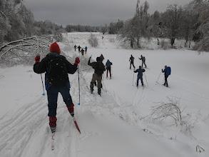Photo: Пруд у Бортнево уже замёрз
