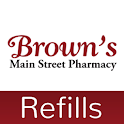 Brown's Main Street Pharmacy icon