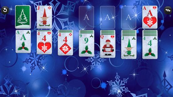 screenshot image - Solitaire Christmas