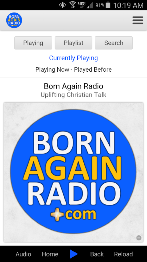 Born Again Radio- screenshot