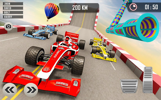 Formula Car Racing Stunts - Impossible Tracks 2019 1.0.11 screenshots 3