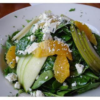 Apple-Spinach Salad.
