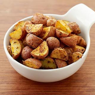 Dijon-Roasted New Potatoes.