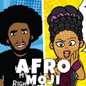 AfroMoji: African Afro Emoji Stickers Black icon