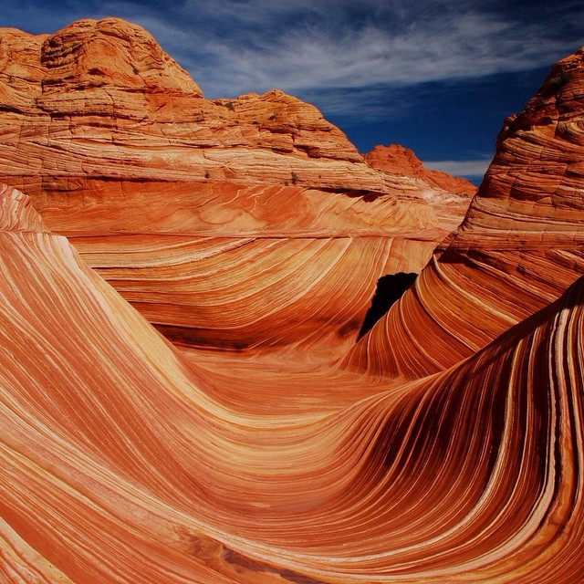 The Wave by Clinton Gage - Landscapes Deserts (  )