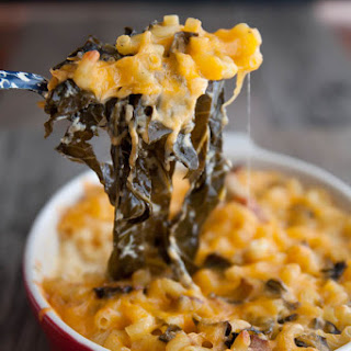 Spicy Mac 'n Collards
