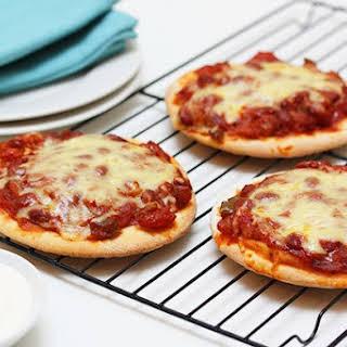 Mini Mexican Pizza.