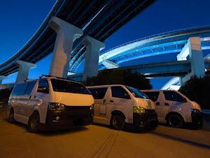 ハイエースバン TRH200V SUPER GL 2018年式のカスタム事例画像 keiji@黒バンパー愛好会さんの2020年02月02日15:43の投稿