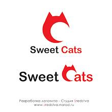 Photo: sweet cat, логотипsweet cat, создание логотипа, новый логотип, хороший логотип, секрет хорошего логотипа, качественный логотип