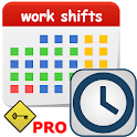 my work shifts PRO icon