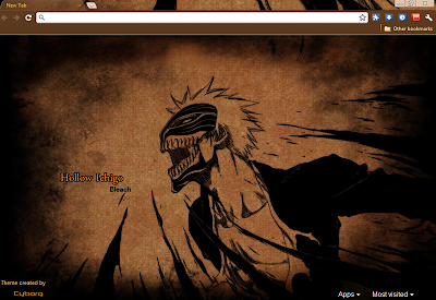 themes  Bleach Themes For Google Chrome