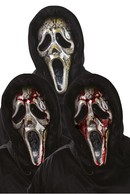 Mask, Scream blodig zombie