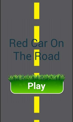 Red Car On Road
