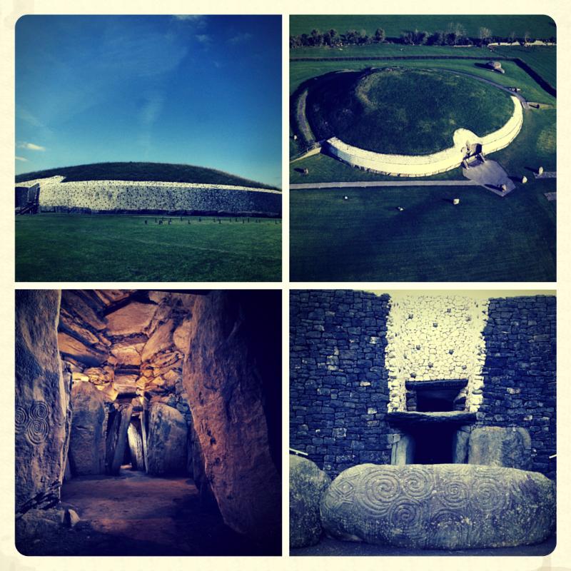 Newgrange Passage Tomb Montage.png