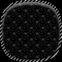 Black Patterns Live Wallpaper icon
