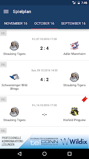 Straubing Tigers- screenshot thumbnail