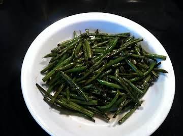 Balsamic Vinegar Green Beans