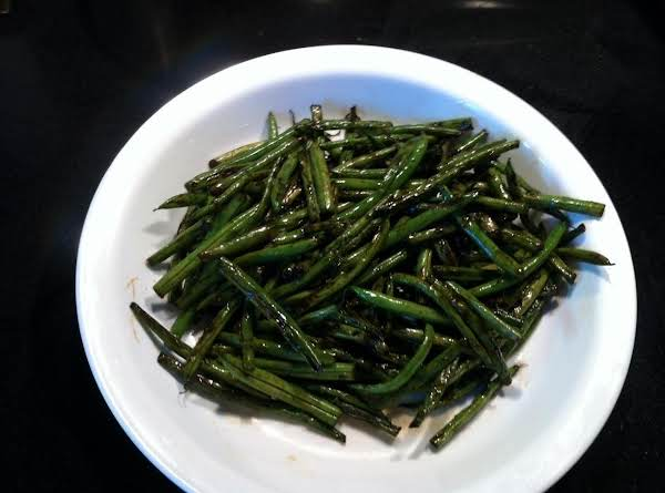 Balsamic Vinegar Green Beans Recipe
