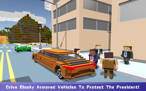 Blocky Security: USA President  screenshots 2
